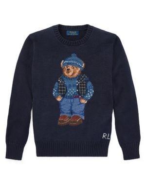 Boy's Graphic Cotton...