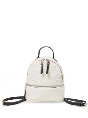 Minnie Faux-Fur Backpack 500088700388