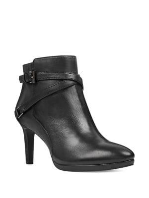 Baruffi Leather Booties...