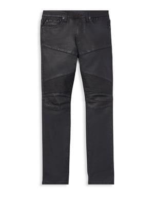 Little Boy's Eldridge Moto Jeans 500088702561