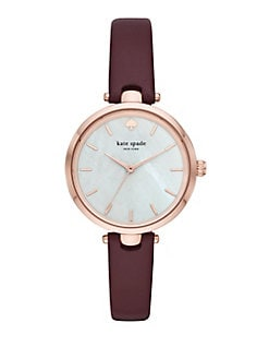 d5eb99ce7 QUICK VIEW. Kate Spade New York. Holland Leather-Strap Watch