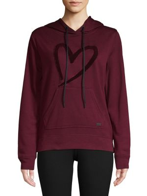 Graphic Long-Sleeve Hooded...