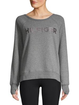 Logo Raglan-Sleeve Sweater...