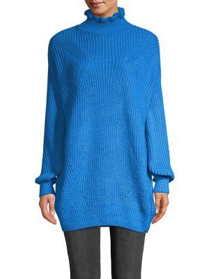 Textured Turtleneck Sweater...