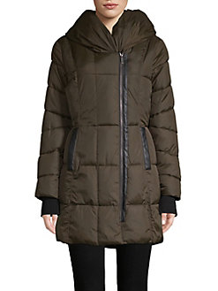 ee4179fd1f Product image. QUICK VIEW. French Connection. Hooded Quilted Coat
