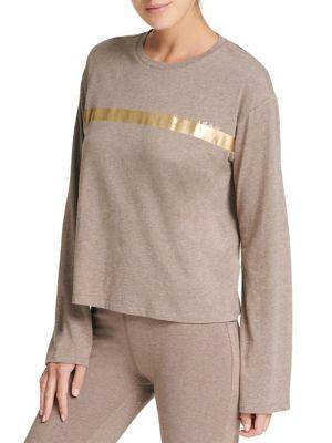 Foil Long-Sleeve Sweater...