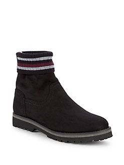 99e4bbb7 QUICK VIEW. Tommy Hilfiger. Striped Cuff Boots