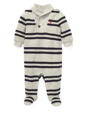 Baby Boy's Striped Footie...