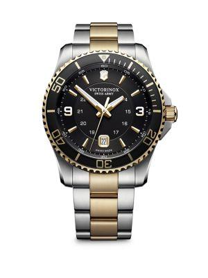 Image of Maverick Stainless Steel Analog Bracelet Watch