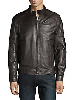 8330dba6a7e Men's Leather Jackets & Coats | Lord + Taylor