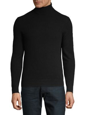 Cashmere Turtleneck Sweater...
