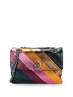 56892066e045 Large Soho Striped Leather Shoulder Bag MULTI. Product image
