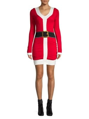 Santa Sweater Dress @...