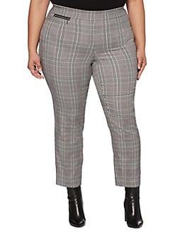 3d83467e623ae QUICK VIEW. Rafaella. Plus Skinny-Leg Plaid Pants