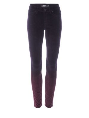Image of Nico Mid-Rise Ankle Skinny Jeans