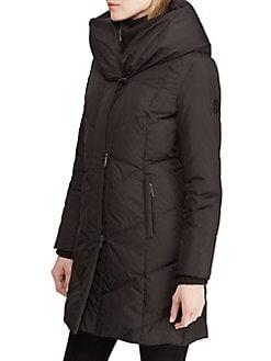 QUICK VIEW. Lauren Ralph Lauren. Classic Hooded Jacket 3b01d9f55d55