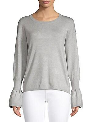 0b5820bd7b6927 Ellen Tracy - Classic Long-Sleeve Top