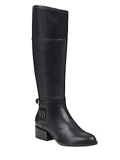 b9a337bd54a9 QUICK VIEW. Tommy Hilfiger. Mani Wide Calf Riding Boots