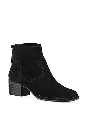 Harrison Suede Booties by Tahari