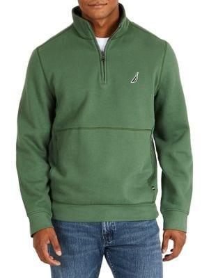 Fleece Half-Zip Pullover...