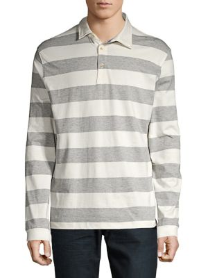 Striped Rugby Shirt @...