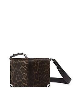 c4ef4e2ab QUICK VIEW. Allsaints. Vincent Leopard Print Calf Hair Leather Shoulder Bag.  $368.00 Now $184.00 · Kathi Studded Crossbody Bag BLACK