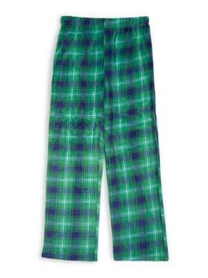 Boys Plaid Pajama Pants