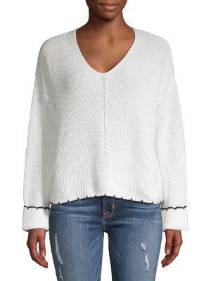 Long-Sleeve Sweater @...