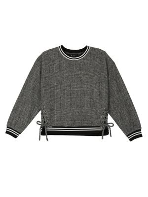 Girl's Fuzz Sweater @...