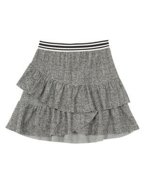 Girl's Plaid Skirt @...