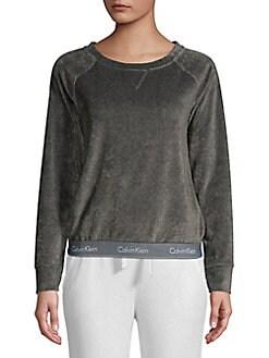 0ebbdfcc34 QUICK VIEW. Calvin Klein. Logo Pajama Top