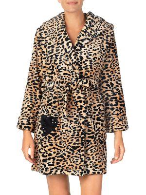 bde125b047 Betsey Johnson - Cozy Time Plush Robe