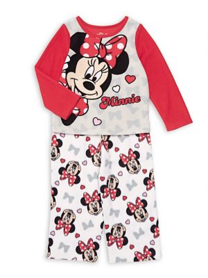 Baby Girls TwoPiece Pajama Top  Pants Set