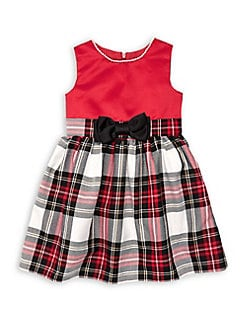 429cd21dc9 Little Girl's Lexi Tartan Plaid Dress RED. QUICK VIEW. Product image