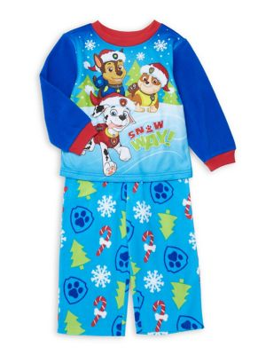 Baby Boys TwoPiece Paw Patrol Holiday Pajama Set