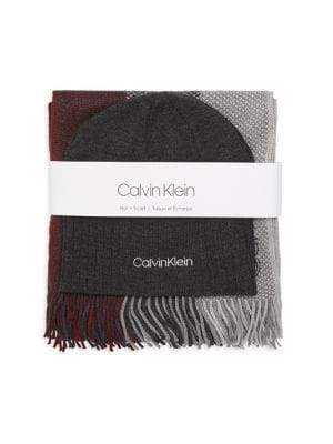 Two-Piece Ribbed Beanie...