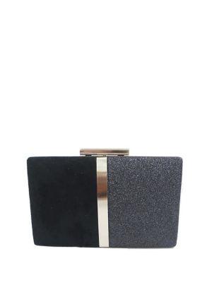Evening Glitter Convertible Box Clutch 500088759211
