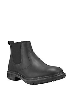 Black Timberland Icon Clearance Sale Mens Chelsea Boots
