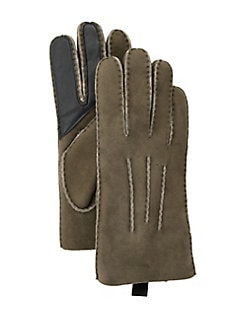 601656e9514 Sheepskin Gloves SLATE CURL. QUICK VIEW. Product image