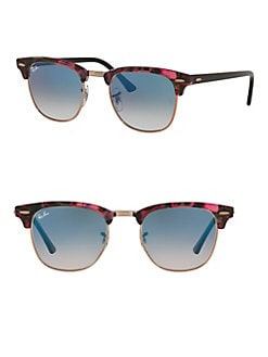 09627319fb QUICK VIEW. Ray-Ban. 51MM Clubmaster Square Sunglasses