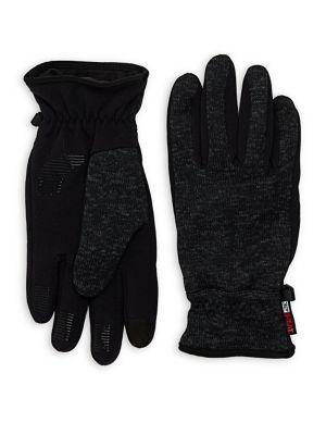 Logo Sweater Knit Gloves...
