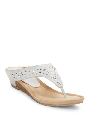 Great Leaps Studded Thong Sandals by Kenneth Cole REACTION