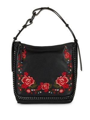 Liana Floral Chain Leather...