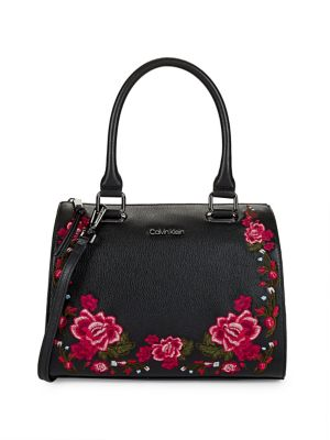 Halle Floral Embroidered...