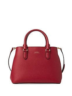 Product image. QUICK VIEW. Lauren Ralph Lauren. Mini Leather Satchel d223fed9814f2