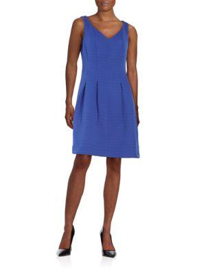 Jacquard Knit Dress by Taylor