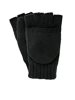 adbdf9cefe2 QUICK VIEW. Ugg. Knit Flip Mitts.  65.00 · Sherpa-Lined Leather Conductive Gloves  BLACK