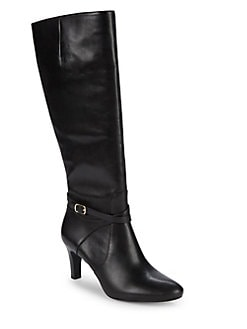 1a58096b4d5 Elberta Tall Leather Boots BLACK. QUICK VIEW. Product image
