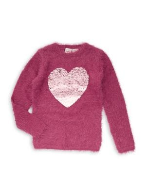 Girl's Sequined Heart...