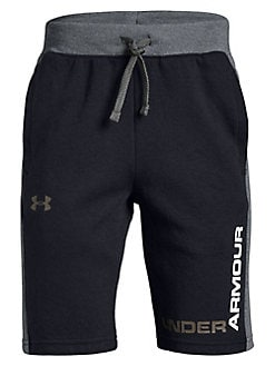fe55ad09be Product image. QUICK VIEW. Under Armour. Boy's Cotton Blend Drawstring  Shorts